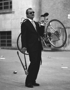 Bill Murray Steals a Bike