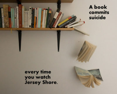 Watch jersey shore a book commits suicide