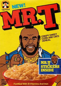 Mr. T Cereal - Fortified with T-Vitamins and Iron