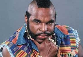 Picture of Mr. T Contemplating Pity.