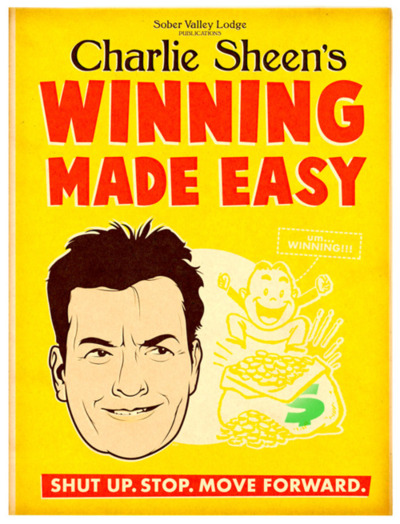 Charlie Sheen's New Book: Winning Made Easy
