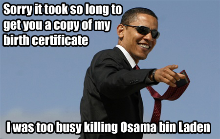 Barack Obama says Sorry it took so long to get copy of birth certificate