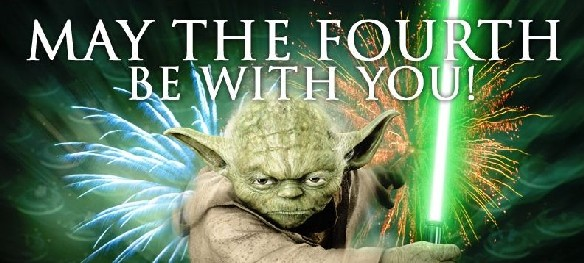 Star Wars Appreciation Day is May 4: May the Fourth be with you!
