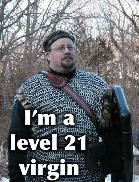 I'm a level 21 virgin